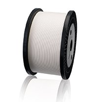 Cotton covered paper conductor